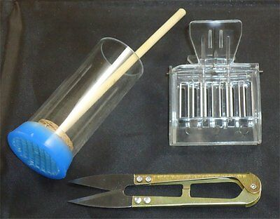Queen Snips, Queen Catcher & Blue Plunger Kit - Queen Marking - Bees - Hive