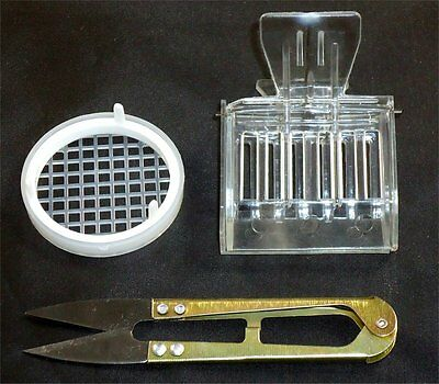 Queen Snips, Queen Catcher & Plastic Marking Cage - Bees - Hive - Queen - Breed