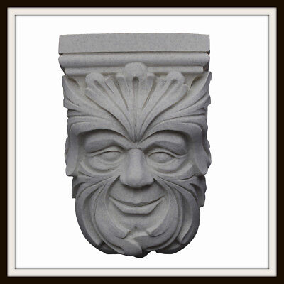 The Clee Baroque Green Man Corbel ~ Greenman Plaque ~ Garden / Home ~ Uk Made