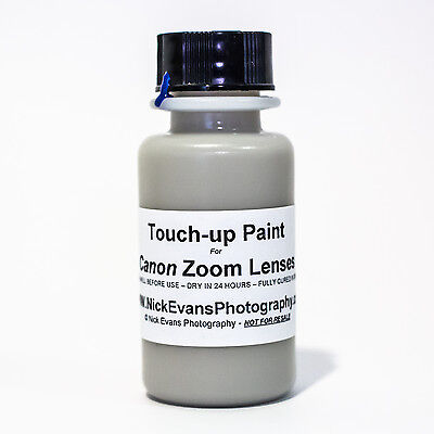 Touch-Up Paint for most CANON Telephoto Zoom Lenses - Ultrasonic and L Series