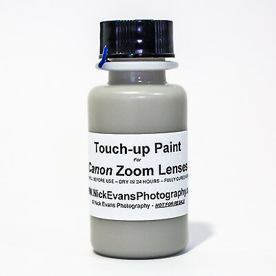 Touch Up Paint for Canon Ultrasonic L Series Lense - NEW BOTTLE