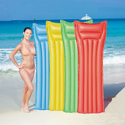 1Pc Kids/Adult Float Inflatable Swimming Pool Raft Mat Water Air Floating Bed