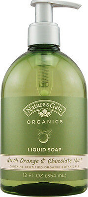 Liquid Soap Neroli Orange & Chocolate Mint, Nature's Gate, 12 oz