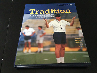 Autographed College Magazines Bo Schembechler Signed Book Autobiography Autographed Michigan Wolverines 51626