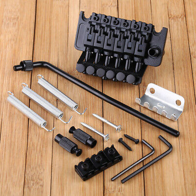 New Floyd Rose Lic Tremolo Bridge Double Locking System Chrome BLACK