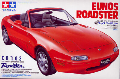 Tamiya 24085 1/24 Scale Model Car Kit Mazda MX-5 Miata Eunos Roadster