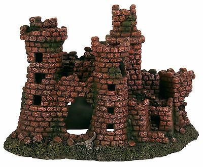 Castle Ruin Fish Cave Aquarium Ornament Ancient Ruins Fish Tank Decoration