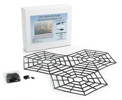 Floating Pond Protector Kit Interlocking Pest Heron Deterrent Koi Fish Guard Net