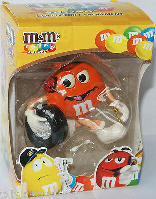 M&M´s NASCAR RACING ORNAMENT - Figur / Figure * ORANGE * Kyle Busch - US-Import