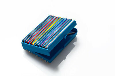 Partex Cable Marker Cassette, PA1 (Size C) Colour Coded Markers