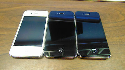 Lot of Apple iPhone 4's AS IS FOR PARTS OR REPAIR