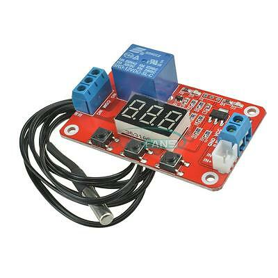DC 12V Relay Switch Control Digital -20 to100℃ Temperature Display Module