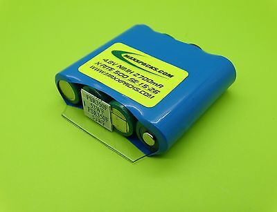 NEW SANYO 2700mA CAPACITY X-RITE BATTERY FOR MODEL 500 / MADE IN USA