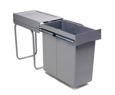 Pull Out Kitchen Waste Bin 40 litres - For 300mm Unit