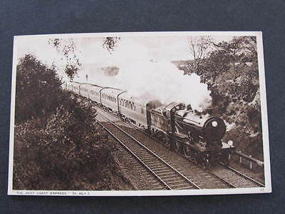 Kent Coast Express Railway Train Postcard