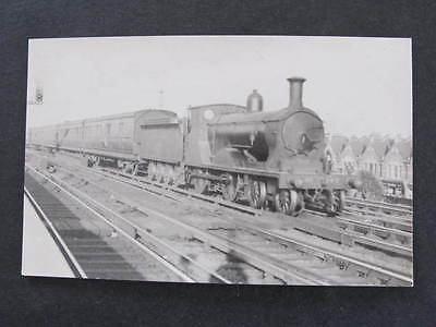RPPC Railway Train Postcard