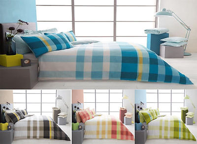Valentino Check Design Duvet Cover Quilt Cover Reversible Bedding Sets All Sizes