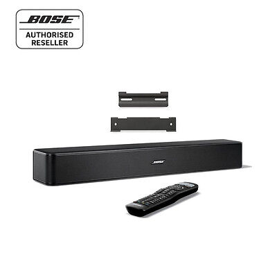 Bose Solo 5 TV Sound System, Bluetooth, Universal Remote & Bose Wall Bracket