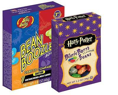 Jeu Jelly Belly - Lot Harry Potter Bertie Bott's (34g) + Bean boozled (45g)