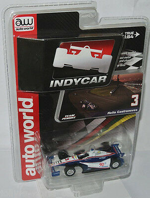 AutoWorld #3 INDY CAR 2014 * AAA INSURANCE * Helio Castroneves - 1:64 lim.Ed.