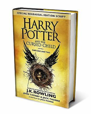 Harry Potter and the Cursed Child Part I&II Special Rehearsal Edition Bestseller