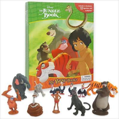 The Jungle Book My Busy Book & Map Plus 12 Figures