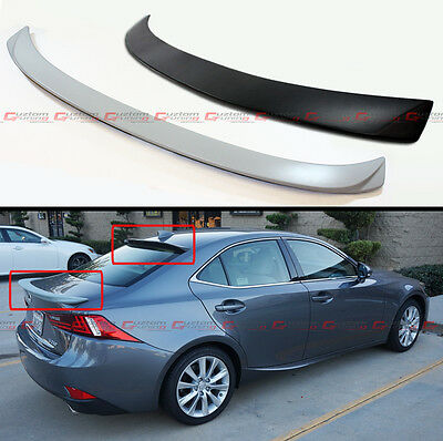 Vip Style Rear Roof Spoiler Trunk Lid Wing