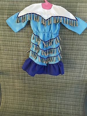 Kaya American Girl Doll Retired Jingle Dress of Today DRESS ONLY