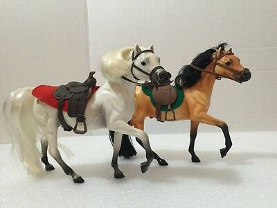 Vintage Marchon Inc Horse lot Brown and White