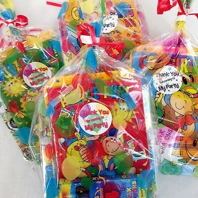 Childrens Pre Filled Party Bag, Ready Made Goody Bags Favours Kids Birthday Loot
