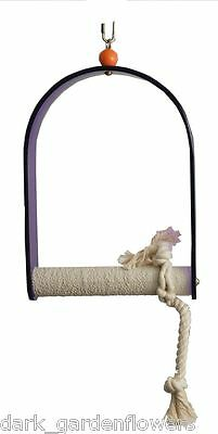 Parrot  Swing Budgie to Macaw Keep Your Birds Nails In Trim