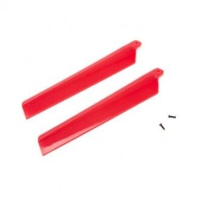 Blade Main Rotor Blades Red (2) MSRX BLH3216RE BLADE