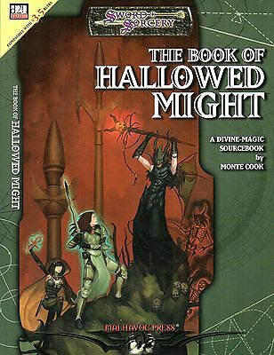 SWORD & SORCERY-THE BOOK OF HALLOWED MIGHT-A Divine Magic Sourcebook-(SC)-rare