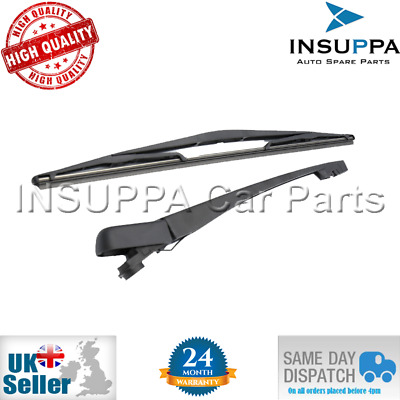 Vauxhall/opel Corsa D 2007-2015 Rear Windscreen Wiper Arm With Blade Set 1273090
