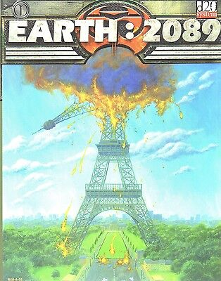 EARTH: 2089-THE WORLD HAS CHANGED-d20 SYSTEM-RPG-Roleplaying Game-(SC)-new