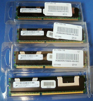 RAM 32GB KIT(4x8GB) MT36KSZF1G72PZ-1G4D1DD 240p PC3-10600 CL9 DDR3-1333 REG