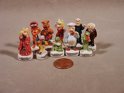 The Muppet Show French Feve Porcelain 10 Figurines