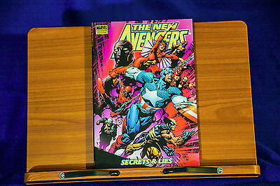 Marvel's The New Avengers Volume 3: Secrets and Lies Hardcover Premier edition