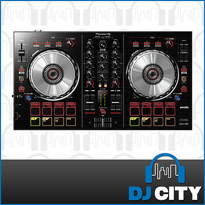 DDJ SB2 Pioneer 2-Channel DJ MIDI Controller with Serato DJ Intro