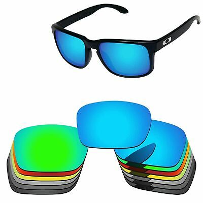 PapaViva Polarized Replacement Lenses For-Oakley Holbrook Sunglass Multi-Options