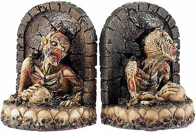 Rising Dead Zombie 14cm Gothic Bookends
