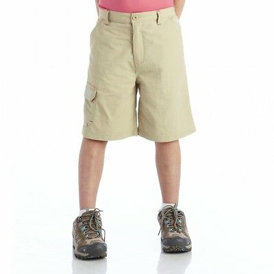 "Kids Beige Shorts Boys Girls Age  26"" Warlock II"