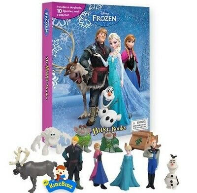 Frozen My Busy Book, Map, Figures
