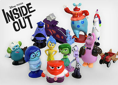 Inside Out Cake Toppers Set of 12 Figures