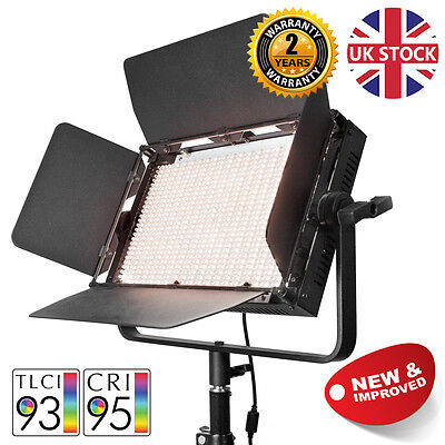 Bicolour LED Panel Professional Video Lighting Panel Interview Dimmable 5600K