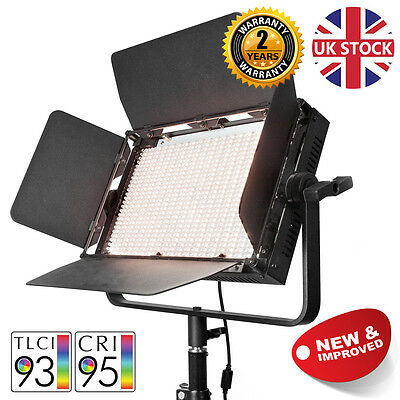 VNIX1000B Bicolour LED Panel Video Lighting Panel Interview Mounting on Truss UK