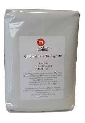 McLaren Dental Chromatic Colour Change Fast Set Alginate 453g Impressions Baby