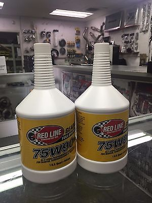 Red Line Synthetic Transmission Transaxle Gear Oil GL-5 75W90NS 2 QUART 58304
