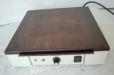 Lab-line slide slides warmer dry plate hot heater heating labile fisher