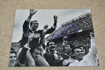 HUGO PORTA signed autograph In Person 8x10  (20x25 cm) RUGBY Argentina